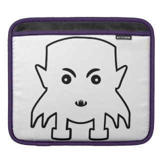 Petit Vampire Cartoon Illustration iPad Sleeve