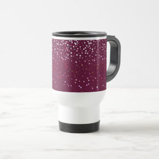 Petite Berry Stars Travel Coffee Mug-Wine Travel Mug