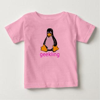 Petite chemise de Geekling de geeks T-shirt Pour Bébé