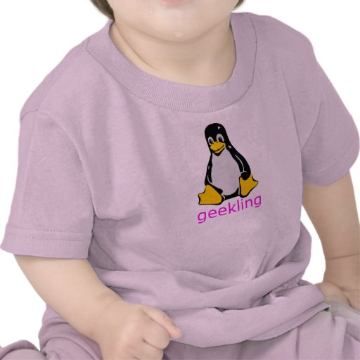 Petite chemise de Geekling de geeks T-shirt