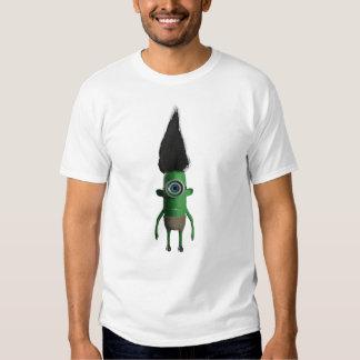 Petite chemise fraîche d'homme vert tee shirts
