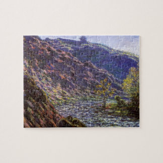 Petite Creuse, Sunlight by Claude Monet Jigsaw Puzzle