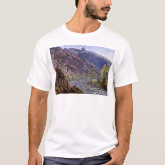 Petite Creuse, Sunlight by Claude Monet T-Shirt