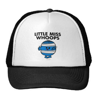 Petite Mlle bandée Whoops Casquette Trucker