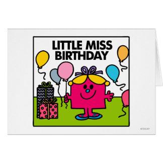 Petite Mlle Birthday Scene Cartes