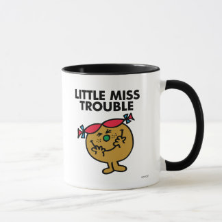 Petite Mlle Trouble | riant