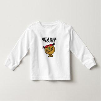 Petite Mlle Trouble | riant T-shirt Pour Les Tous Petits