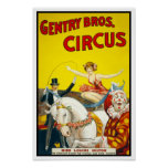 Petite noblesse Bros. Circus, 1920 Poster