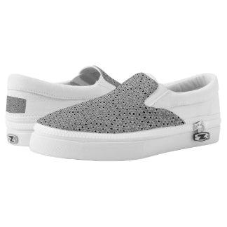 Petite Noir Slip-On Sneakers