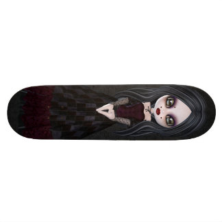 Petite planche à roulettes mignonne et déplaisante skateboard 19,7 cm