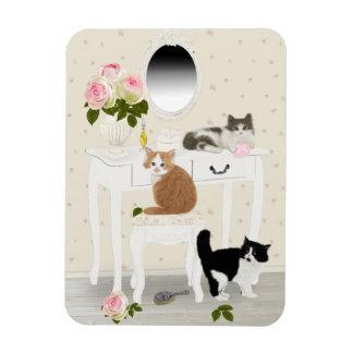 "PetitRose ""Kittens Beauty Salon"" , Magnet"