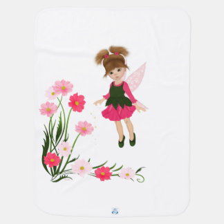 "PetitRose ""Little Flower Fairy"" , Baby Blanket"