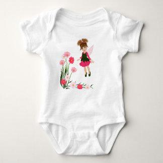 "PetitRose ""Little Flower Fairy"" , Baby Bodysuit"