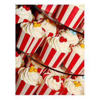 Petits gâteaux carte postale
