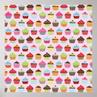 Petits gâteaux mignons poster