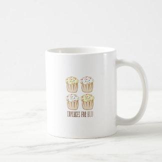 Petits gâteaux pour tous tasses