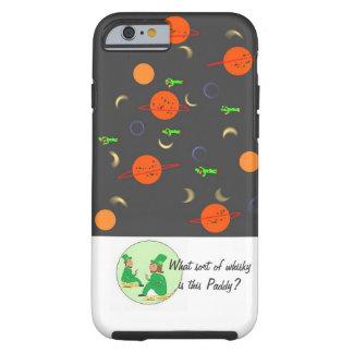 Petits hommes verts dans l'espace coque tough iPhone 6