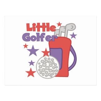 Petits T-shirts et cadeaux de golfeur Cartes Postales