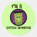 Petits T-shirts et cadeaux de Halloween de monstre Autocollants