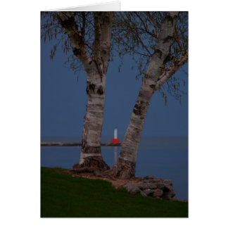 Petoskey Lighthouse Card