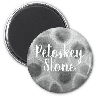 Petoskey Stone Pattern Magnet