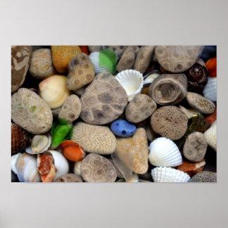 Petoskey Stones 3.0 Poster