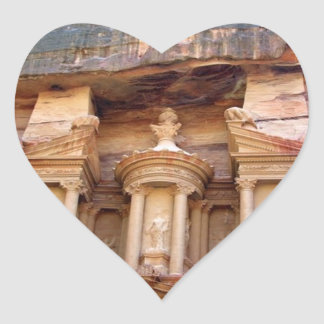 petra heart sticker