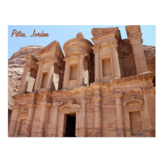Petra Jordan Palace Tomb Postcard