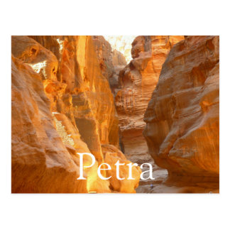 Petra, Jordan Postcard