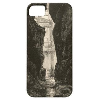 Petra Jordan UNESCO Heritage Site Engraving iPhone 5 Covers