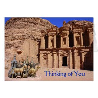 Petra Tea Time Card