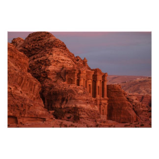 Petra - The Monastery Poster