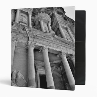Petra Treasury Building 3 Ring Binder
