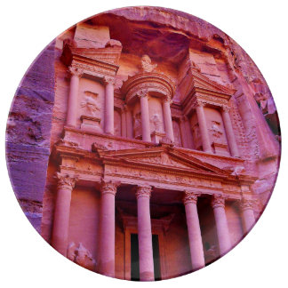Petra Treasury Building Plate