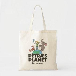 Petra's Planet Logo Tote Bag