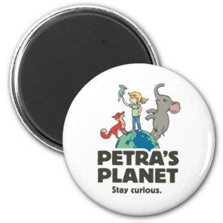 Petra's Planet Magnet