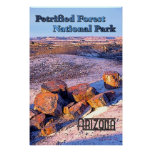 Petrified Forest Vintage Style Poster