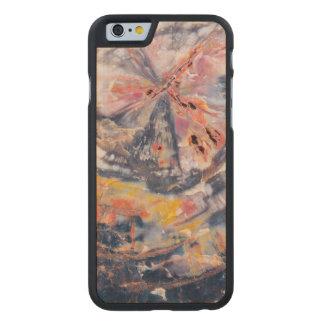 Petrified wood detail, Arizona Carved® Maple iPhone 6 Slim Case