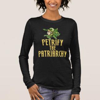 Petrify the patriarchy Medusa Feminist Long Sleeve T-Shirt