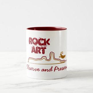 Petroglyph Rock Art Observe and Preserve Mug