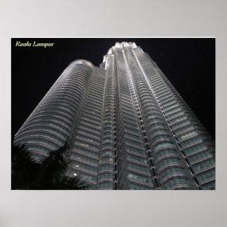 Petronas Tower poster