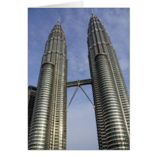 petronas towers kl card