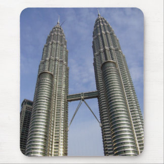 petronas towers kl mouse pad