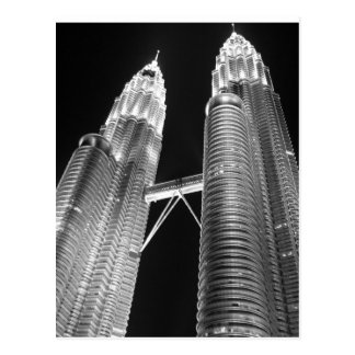 Petronas Twin Tower, KLCC Postcard