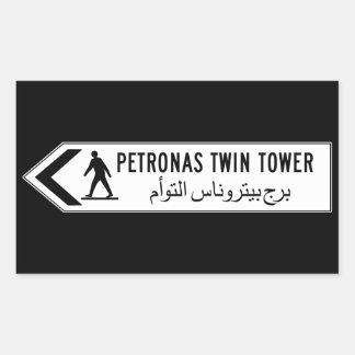 Petronas Twin Tower, Kuala Lumpur, Malaysia Sticker