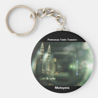 Petronas Twin Towers Keychain