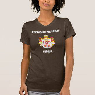Petrovac na Mlavi, Serbia with coat of arms T Shirts