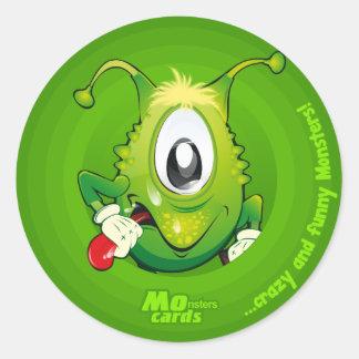petrovich monster round sticker