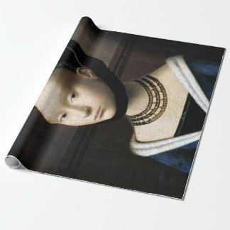 Petrus Christus Portrait of a Young Woman Wrapping Paper