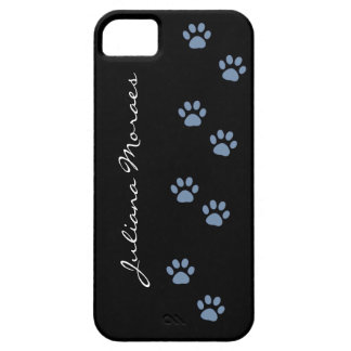 pets dog cat pawprints personalized case for the iPhone 5